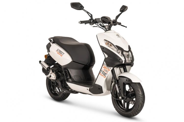 Streetzone 2t bromfietsen scooters nieuw motor for Garage scooter peugeot